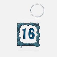 16th Birthday T-Shirts Keychains