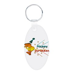 Happy Birthday Farts Keychains