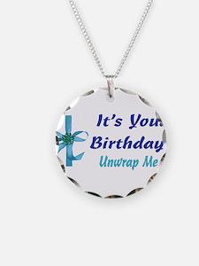 It's Your Birthday! Unwrap Me Necklace