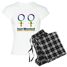 Just Married Lesbians Pajamas