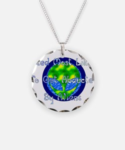 Get Abducted By Aliens Necklace