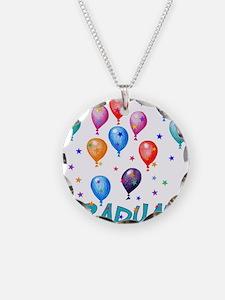 Graduation Balloons Necklace