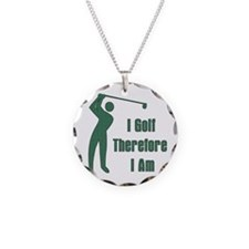 Gift for Golfing Dad Necklace