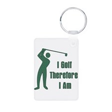 Gift for Golfing Dad Keychains