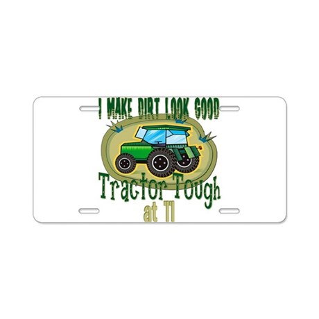 Tractor Tough 11th Aluminum License Plate