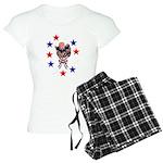 Independence Day Kitten Women's Light Pajamas