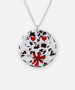 Cow Skull Anti-Valentine Necklace