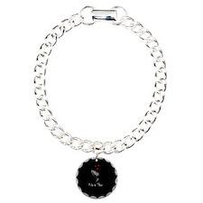 Black Lily Valentine Bracelet