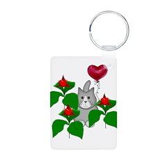 Kitty Cat Valentine Keychains
