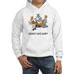 Crazy Cat Lady Hooded Sweatshirt