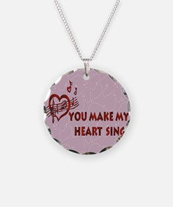 Heart Song Valentine Necklace