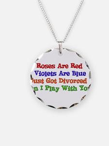 Divorced Valentine Necklace
