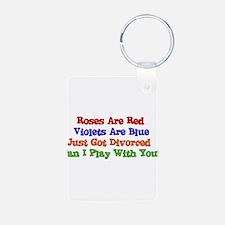 Divorced Valentine Keychains