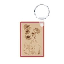 Jack Russell Terrier Smooth Keychains
