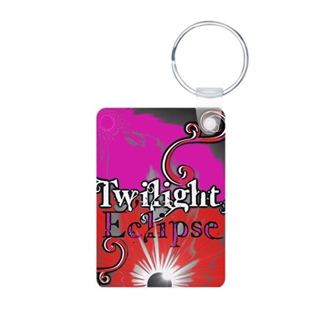 Twilight Eclipse Aluminum Photo Keychain