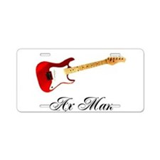 Ax Man Aluminum License Plate