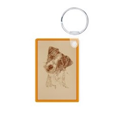 Jack Russell Terrier Rough Keychains