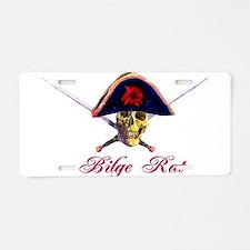 Bilge Rat Aluminum License Plate