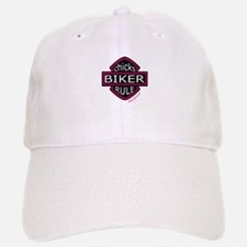 BIKER CHICKS Baseball Baseball Cap
