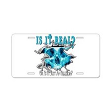 Join Me In A Place Aluminum License Plate