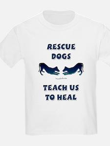 Greyhound Rescue Kids T-Shirt