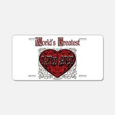 Tattoo license plates tattoo front license plate covers for Tattoo artist license
