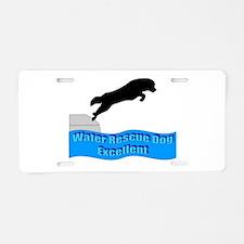 Cool Newfoundland rescue Aluminum License Plate