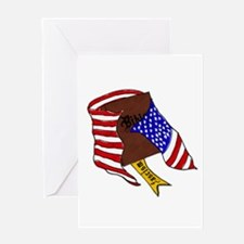 Fascism in the USA Greeting Card