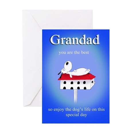 Grandad you are the best Greeting Card