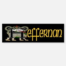 Heffernan Celtic Dragon Bumper Bumper Bumper Sticker