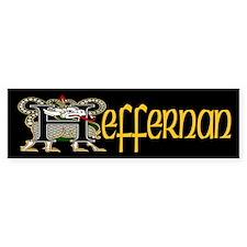Heffernan Celtic Dragon Bumper Bumper Sticker