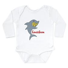 CandyGram Long Sleeve Infant Bodysuit