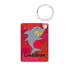 CandyGram Aluminum Photo Keychain