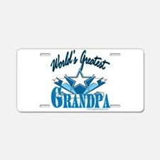 Greatest Grandpa Aluminum License Plate