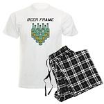 Beer Frame Bowling Men's Light Pajamas