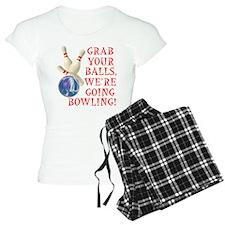 Grab Your Balls Bowling Pajamas