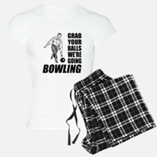 Grab Your Balls Bowling Pajamas
