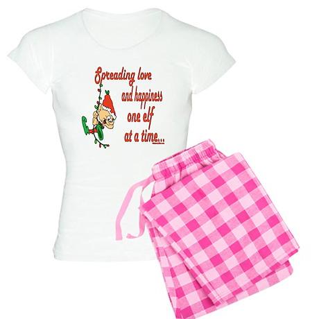 Spreading Love Elves Women's Light Pajamas