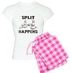 Split Happens Bowling Women's Light Pajamas