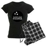 Bowling Widower Women's Dark Pajamas