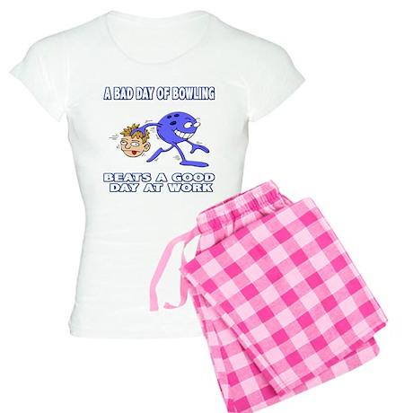 Bad Day Of Bowling Women's Light Pajamas