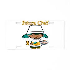 Future Chef Aluminum License Plate