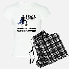 Rugby Superhero Pajamas