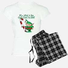 Candy Cane Elf Pajamas