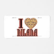 Dilana Aluminum License Plate