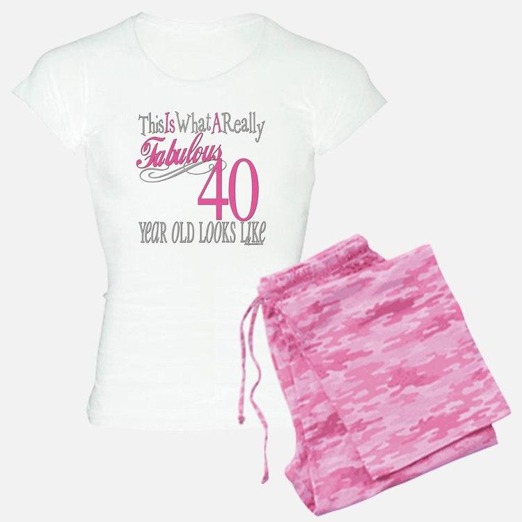 40th Birthday Gifts pajamas