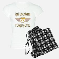 Funny 77th Birthday Pajamas