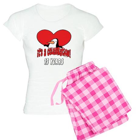 15th Celebration Women's Light Pajamas