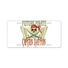 Future Pirates Aluminum License Plate