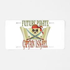 Captain Ismael Aluminum License Plate